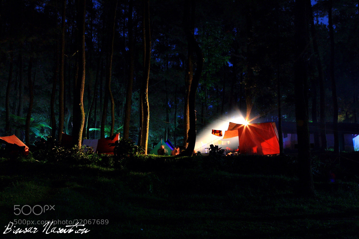 Photograph Camping Ground in Forest by Binsar Nasution on 500px