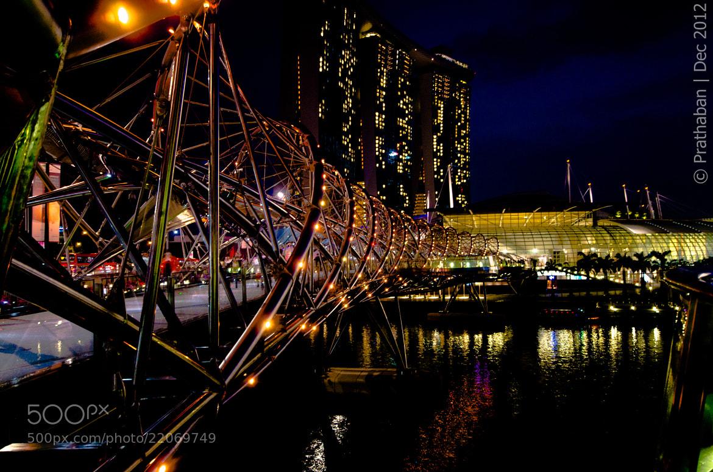 Photograph Helix Bridge by Prathaban Umapathysarma on 500px