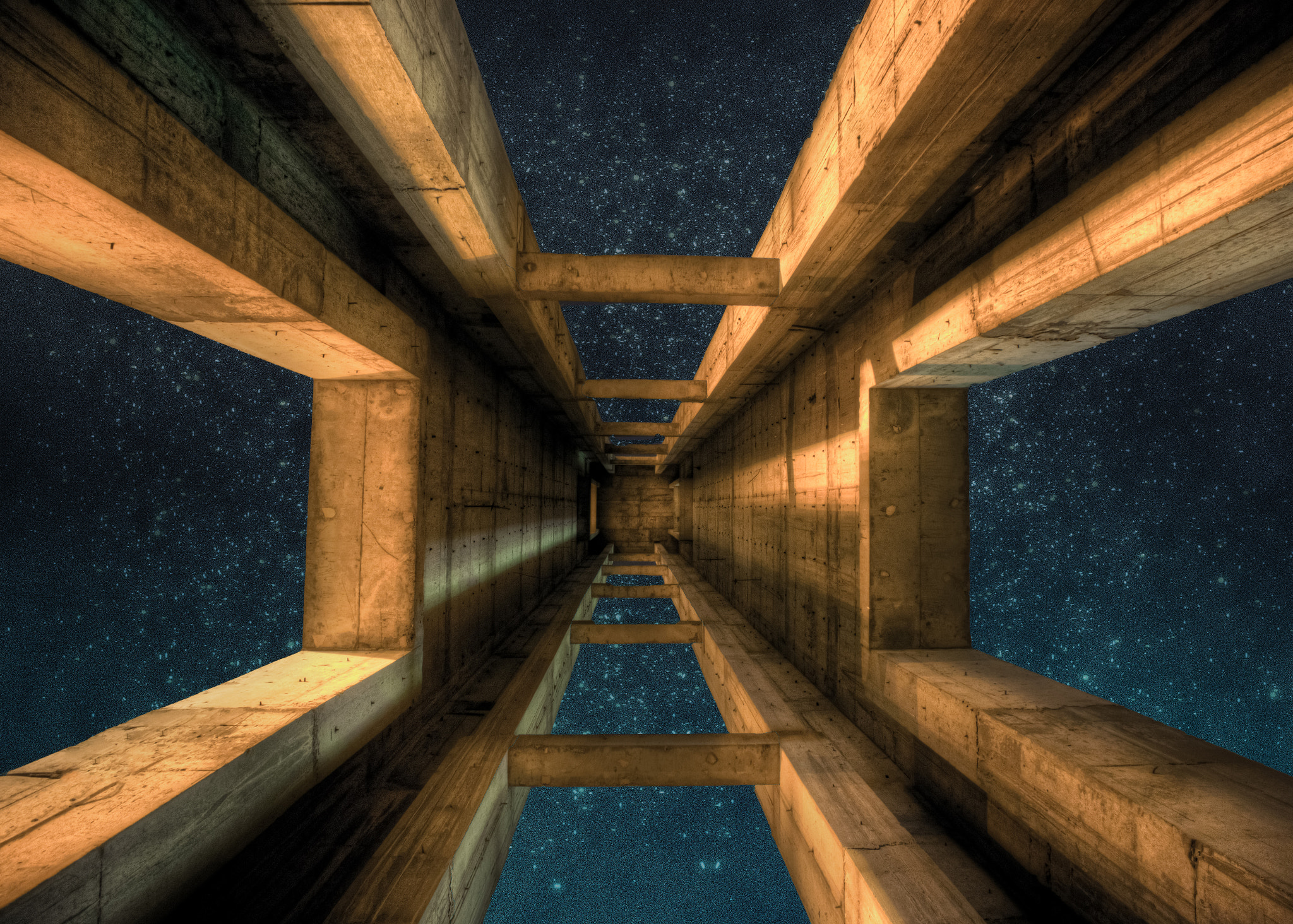 Photograph Ladder to the Stars by ahmed alkuhaili on 500px