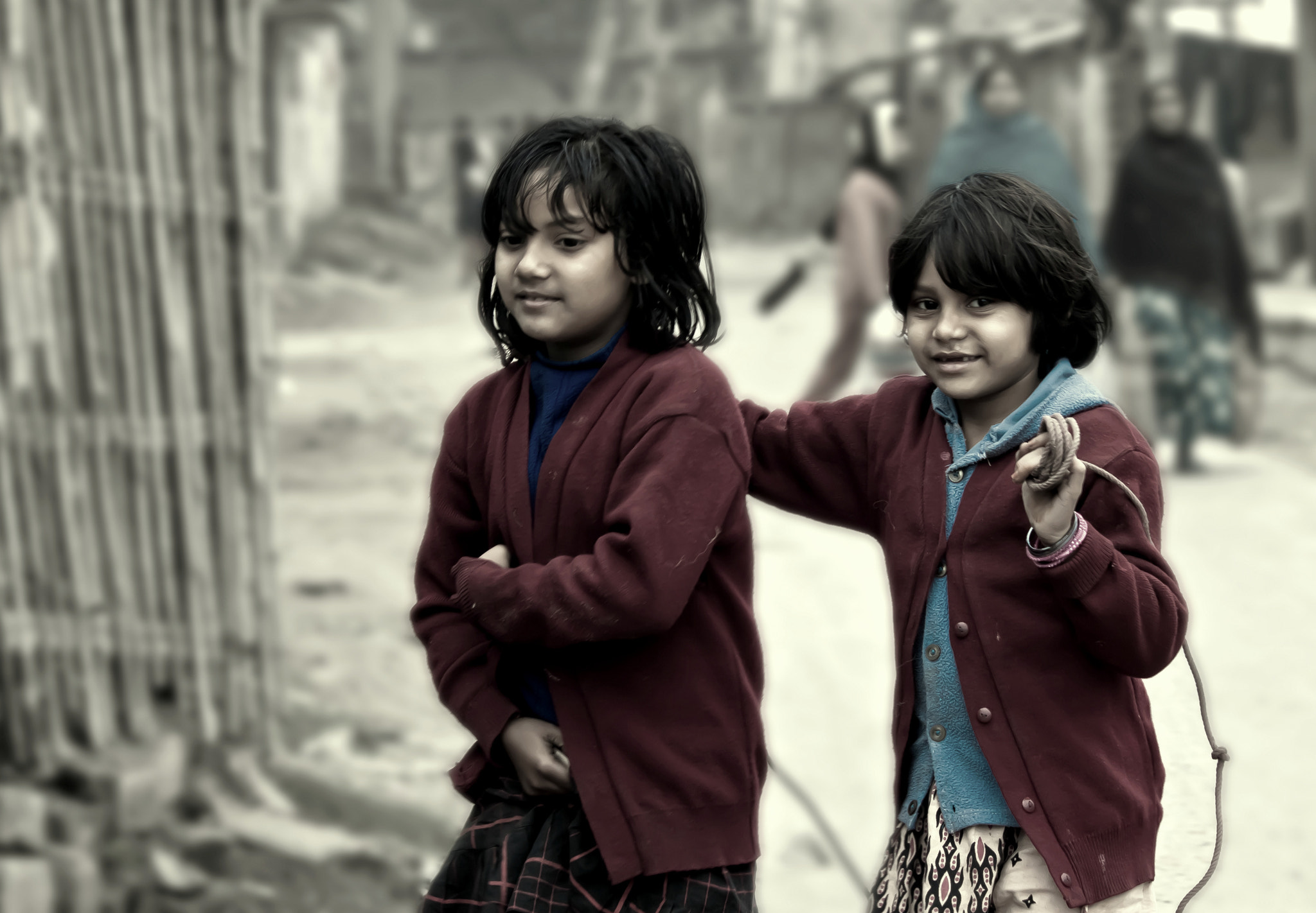 Photograph Two sisters by Samrat  Mukhopadhyay on 500px