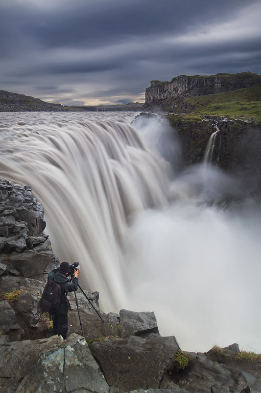 Photograph Documenting Dettifoss by Dylan Toh  & Marianne Lim on 500px