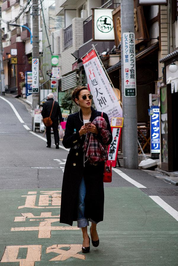 Japanese woman - Tokyo