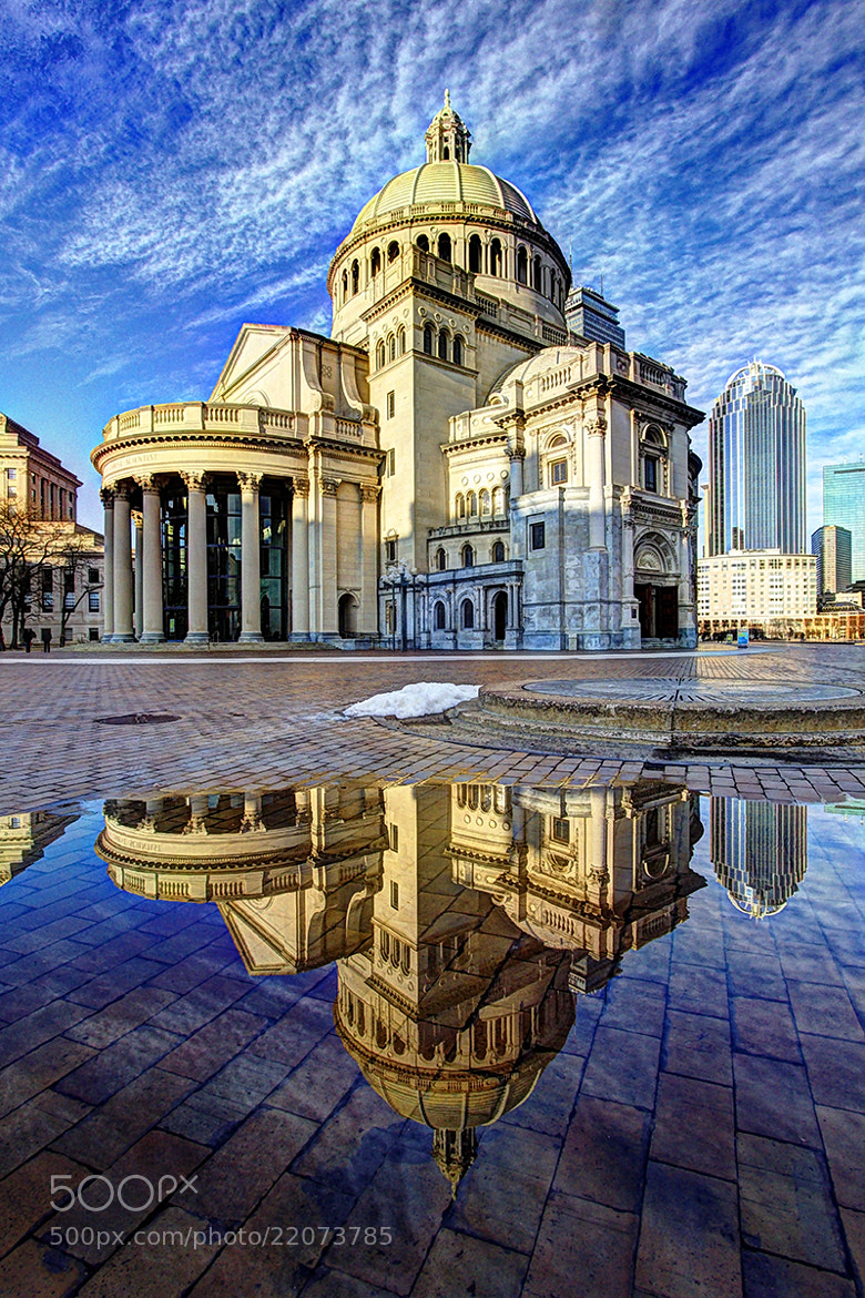 Photograph christian science church by Michael Murowchick on 500px