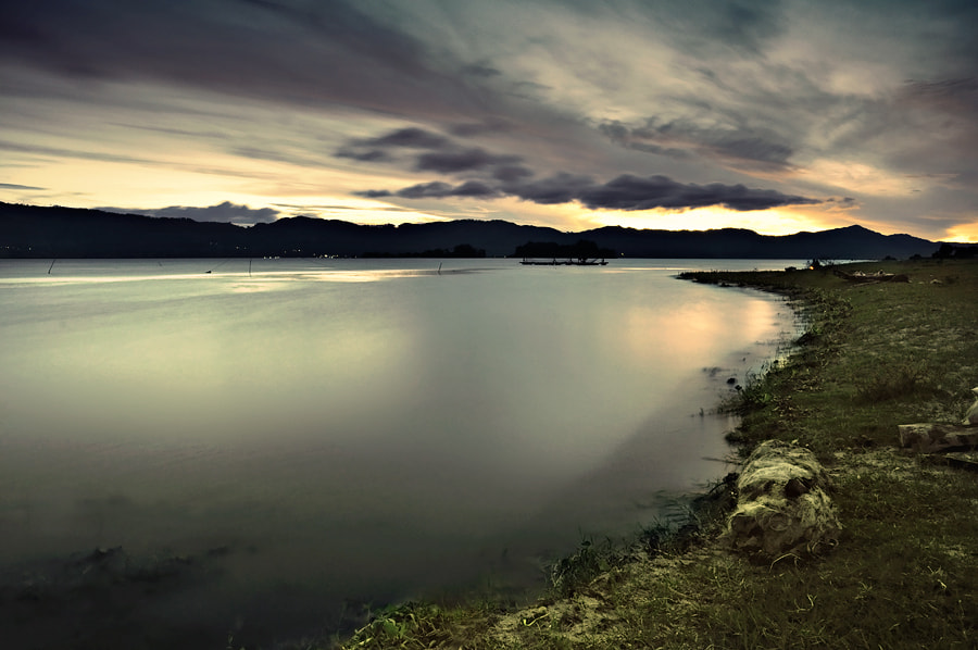 Photograph Almost Sunrise at Toba by hirza kini on 500px