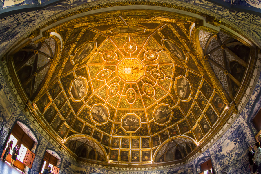 Sintra National Palace dome