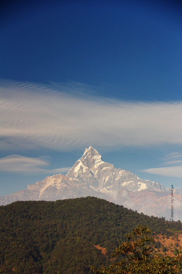Photograph the fishtail mountain by Manish Shakya on 500px