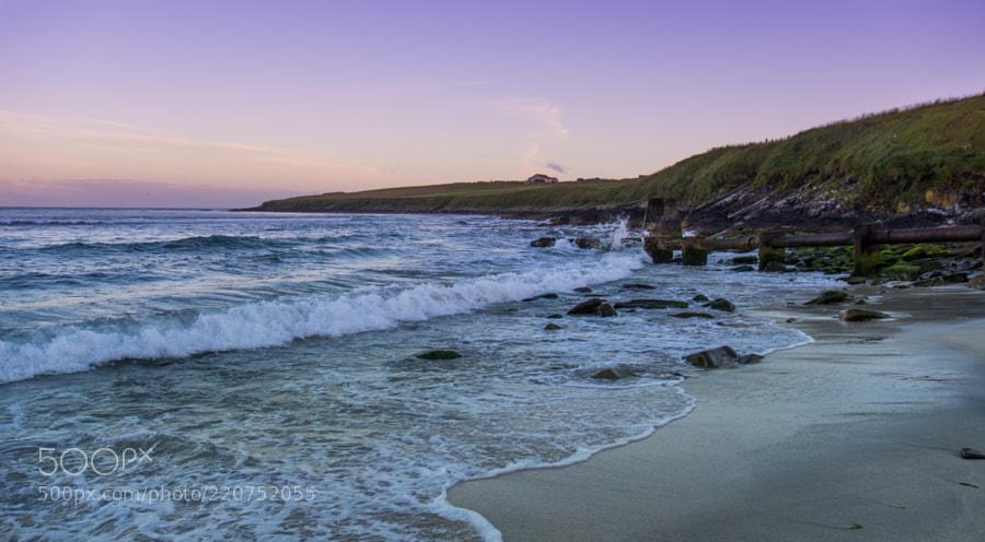 West Voe beach, Shetland.