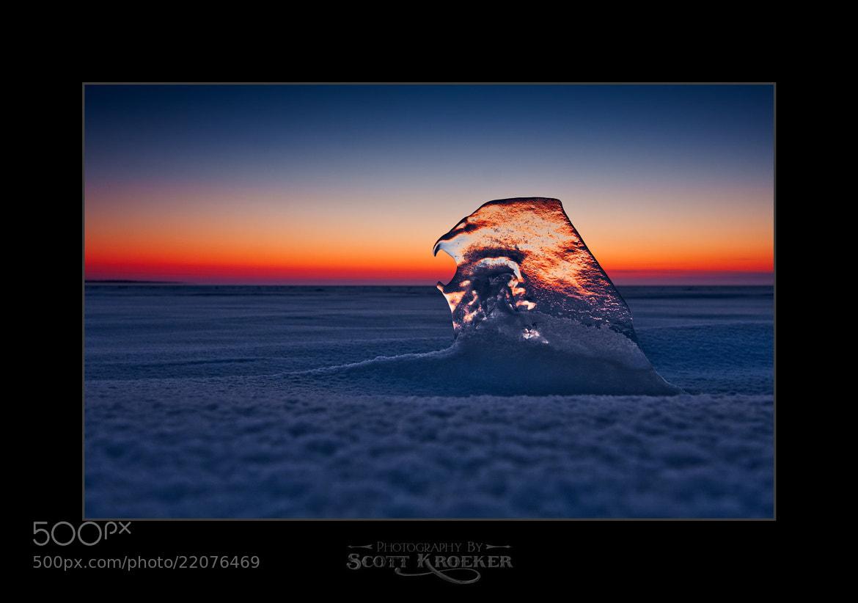 Photograph Frozen Sea by Scott Kroeker on 500px