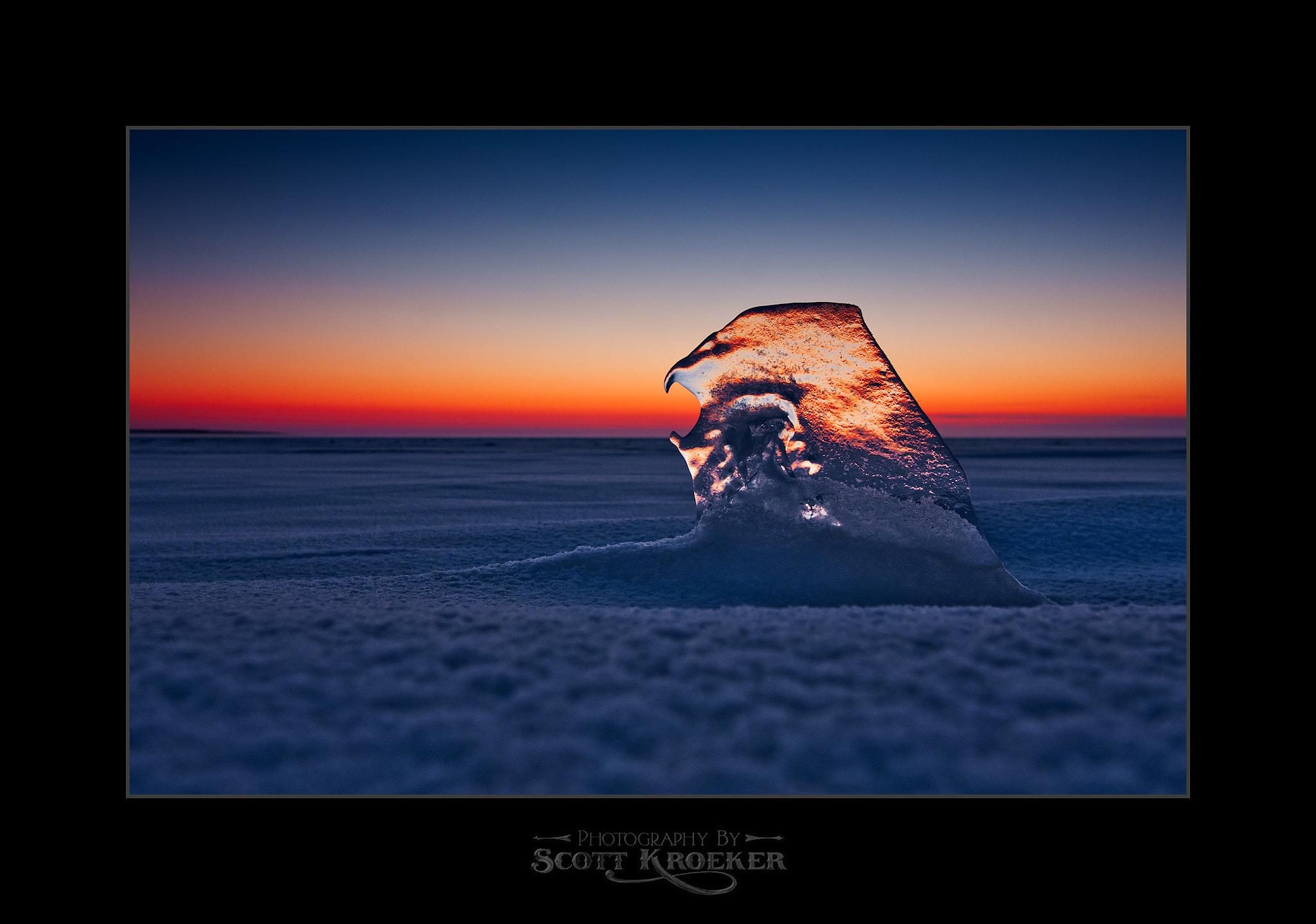 Photograph Frozen Sea by Scott Kroeker on 500px