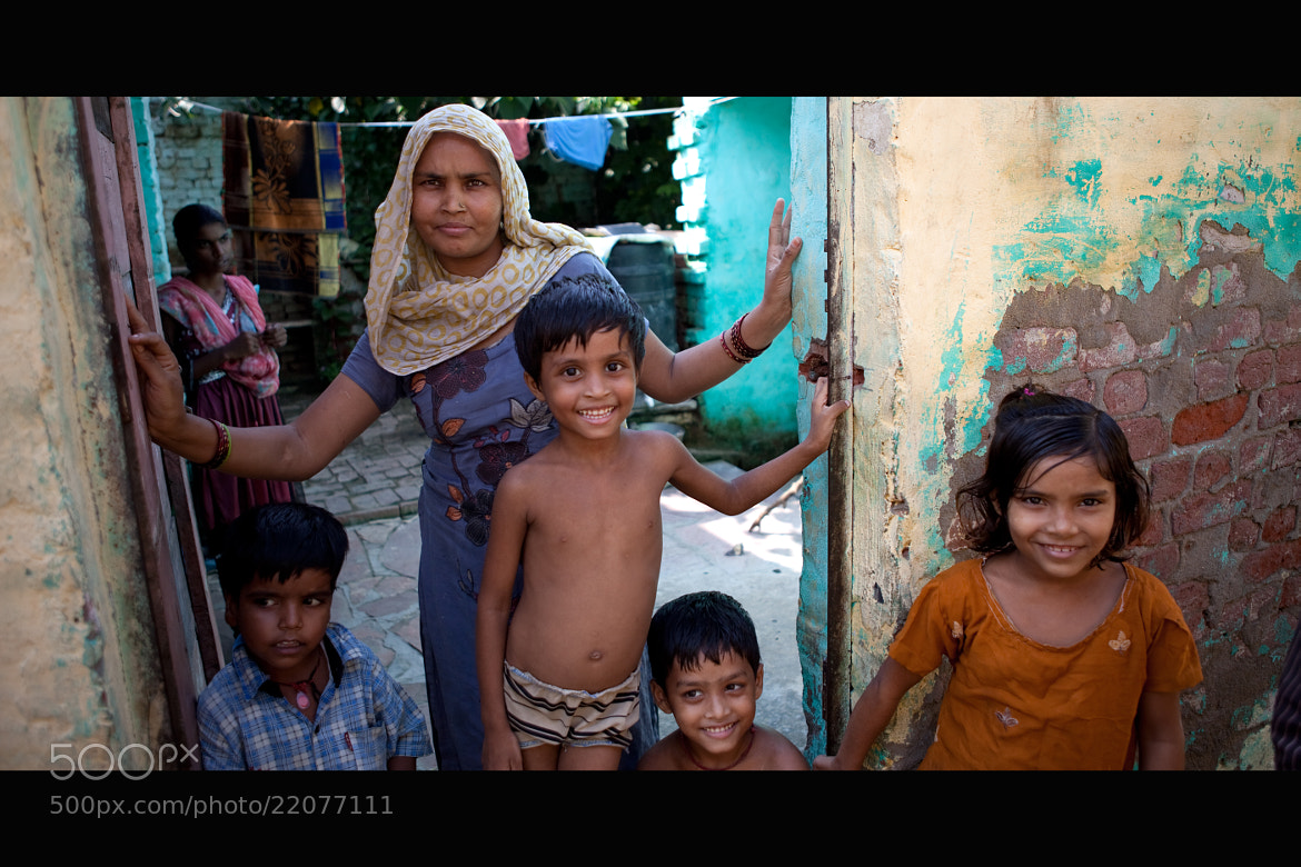 Photograph Indian Family by Victor Borst on 500px