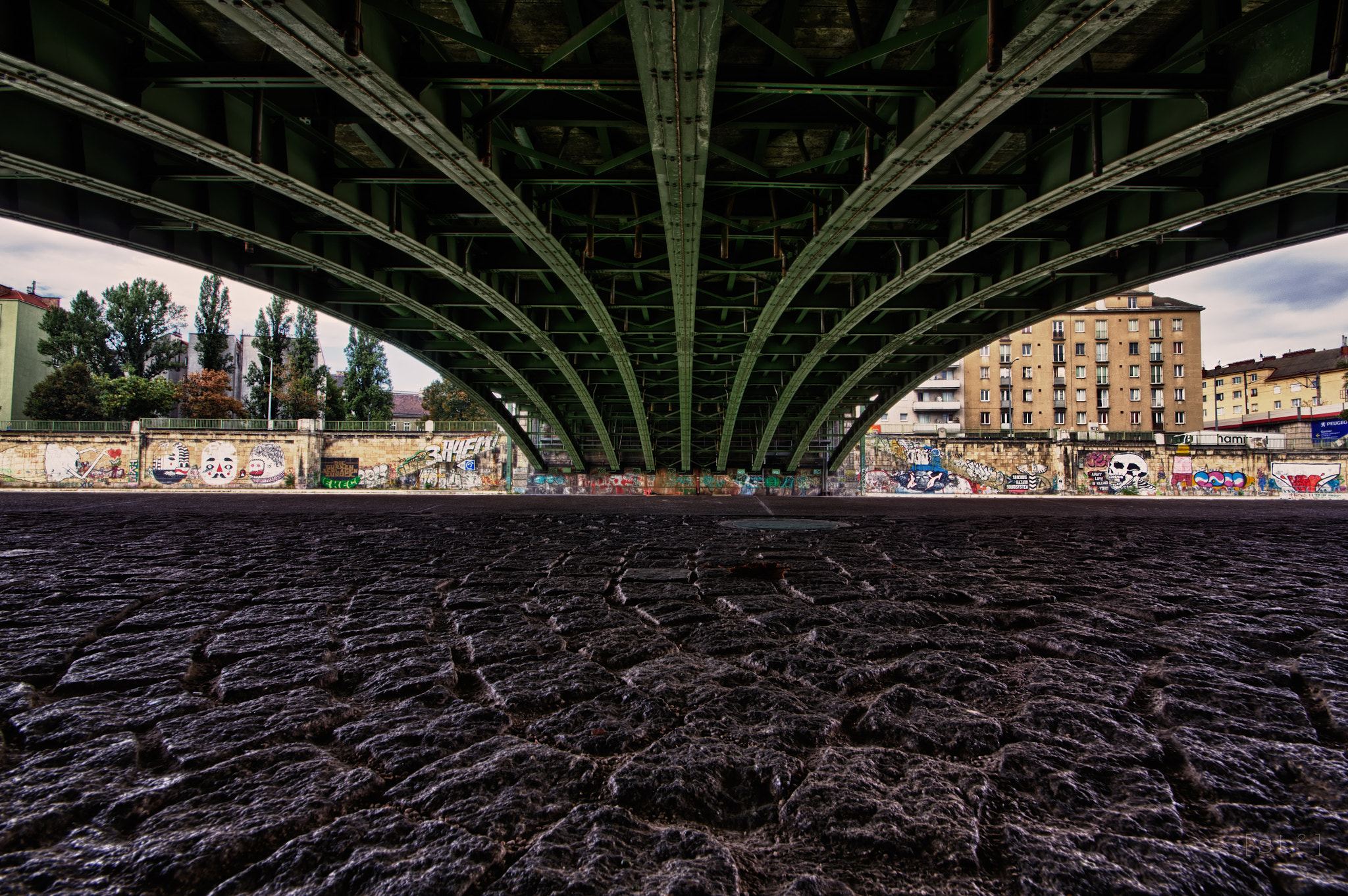 Photograph Under the bridge by Stefan Steinbauer on 500px