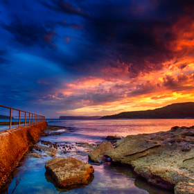 Manly Rock Baths in HDR by Paul Emmings (Emmo)) on 500px.com