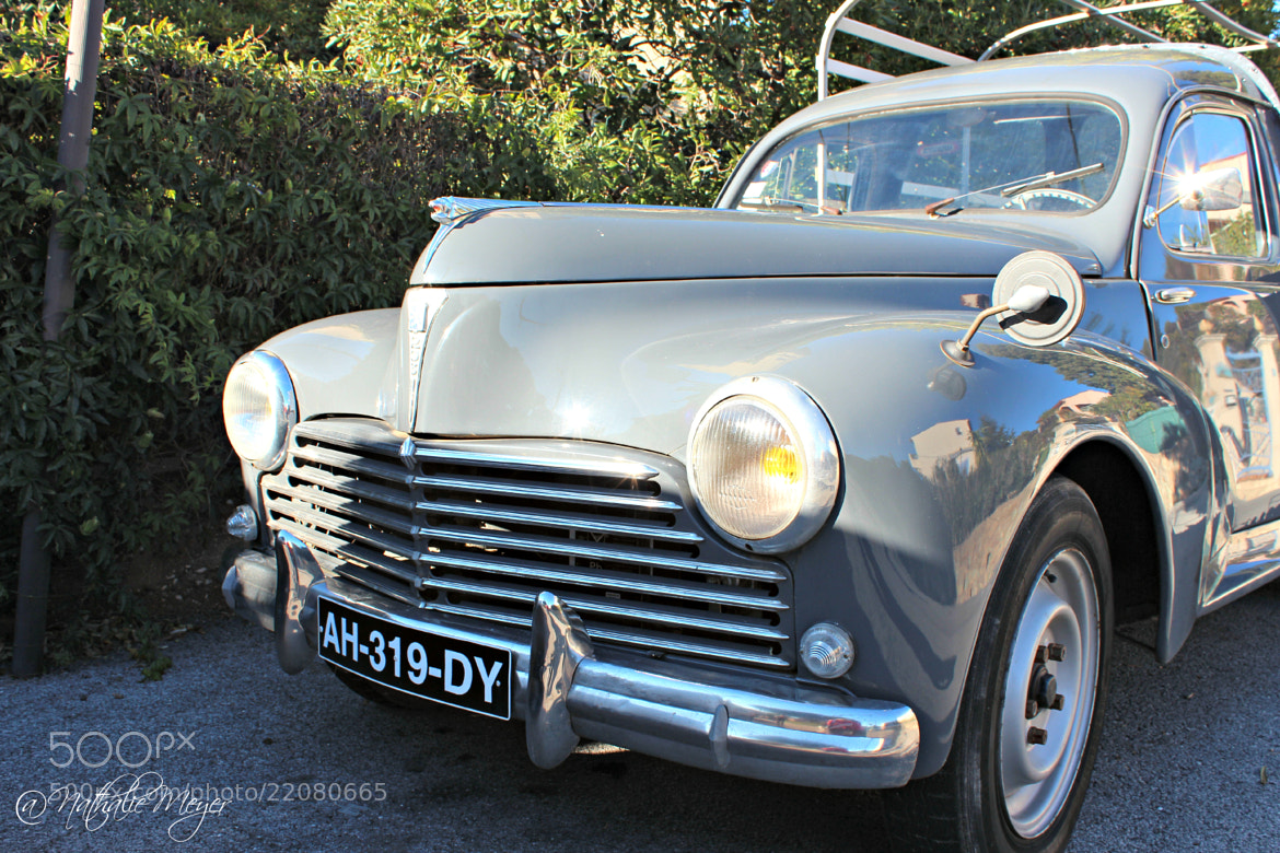 Photograph Peugeot 203 by Nathalie Meyer on 500px