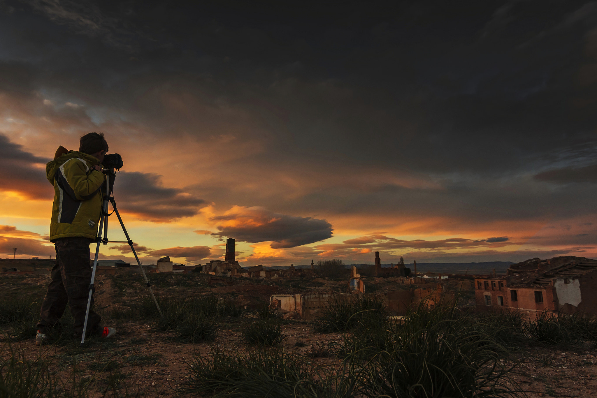 Photograph Sunset in Belchite! by Tony Goran on 500px