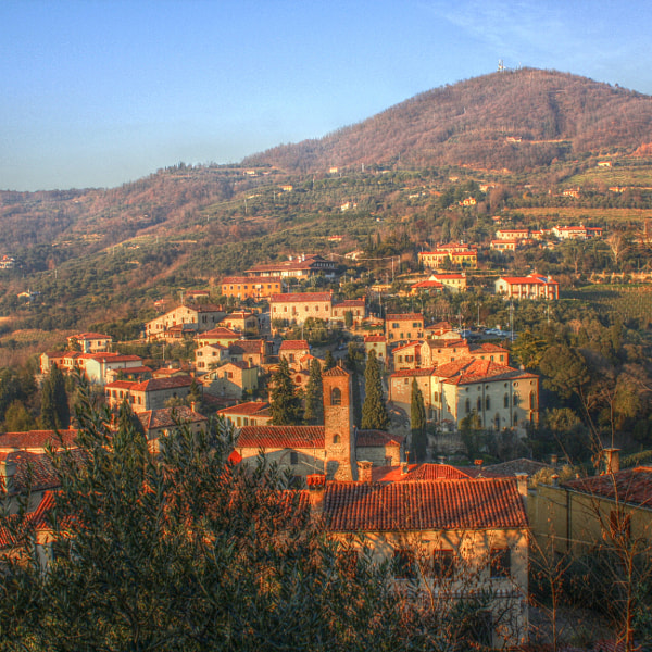 view on arquà petrarca