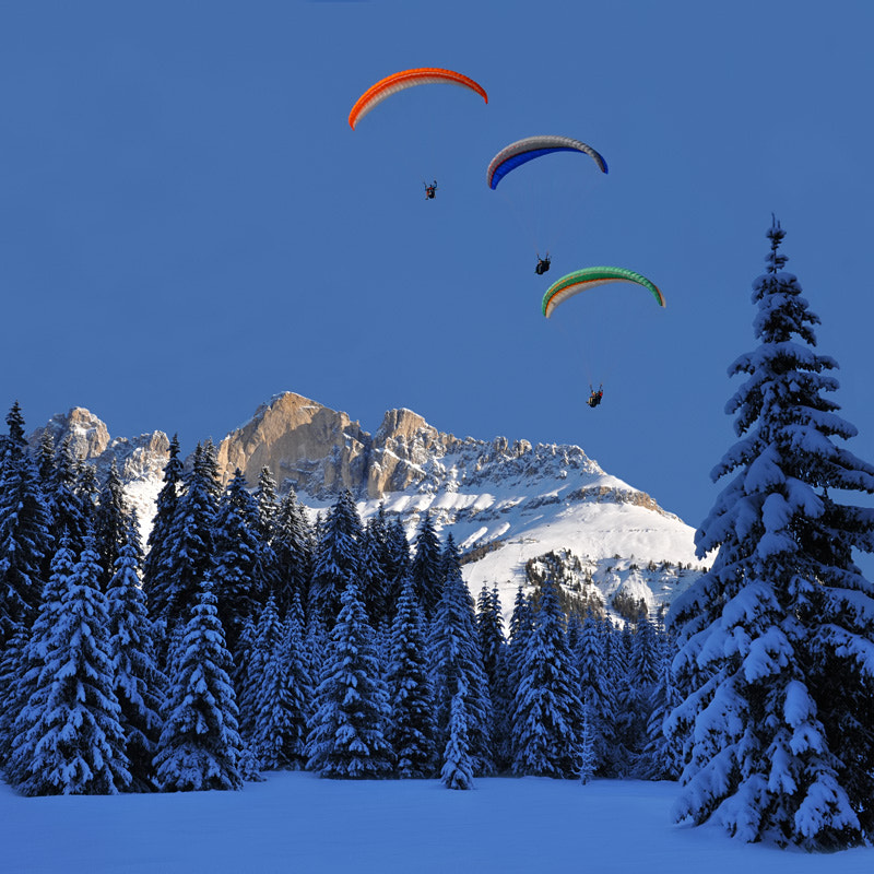 Photograph rosengarten & paraglider by Franco Mottironi on 500px