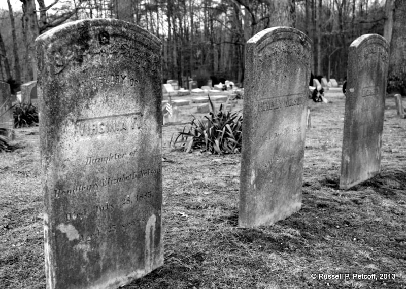 Photograph Trio of headstones by Russell Petcoff on 500px