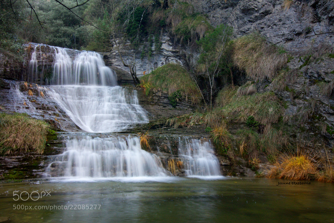 Photograph Waterfall by Josune Etxebarria on 500px