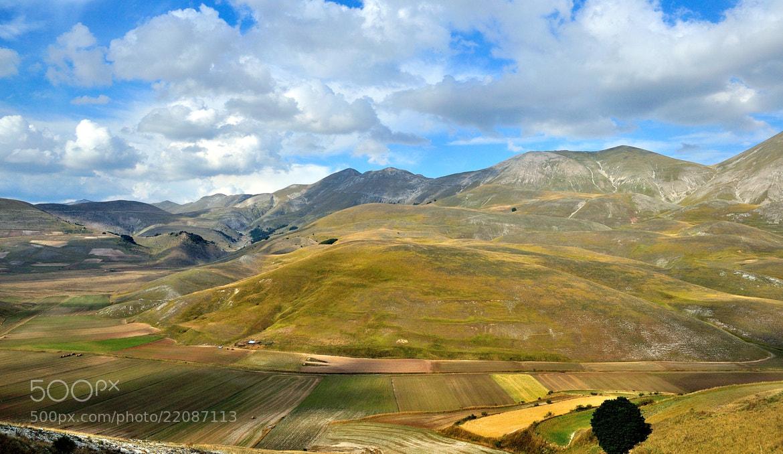 Photograph Pian Perduto and Sibillini Mounts from Castelluccio di Norcia. by Renato Pantini on 500px