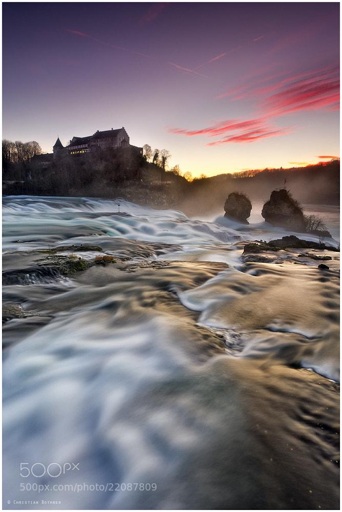 Photograph Rheinfall Schaffhausen by Christian Bothner on 500px