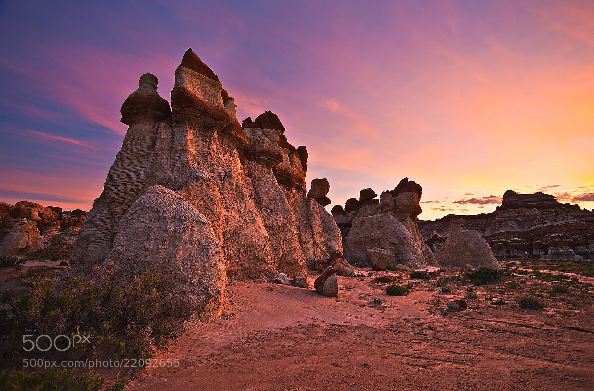 Photograph Blue Canyon Sunrise by Dee Nichols on 500px