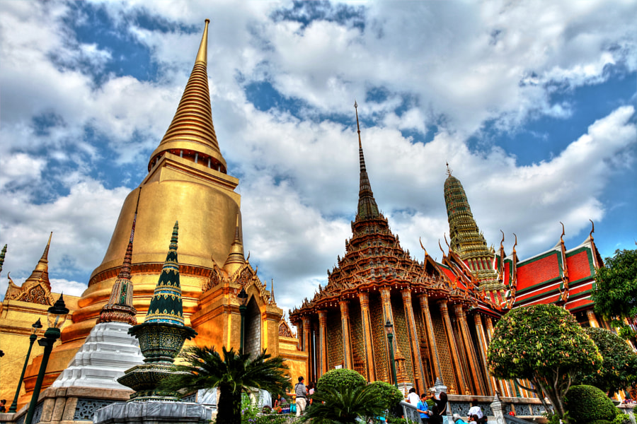 Photograph Grand Palace Bangkok 2 by Nghia Nguyen on 500px