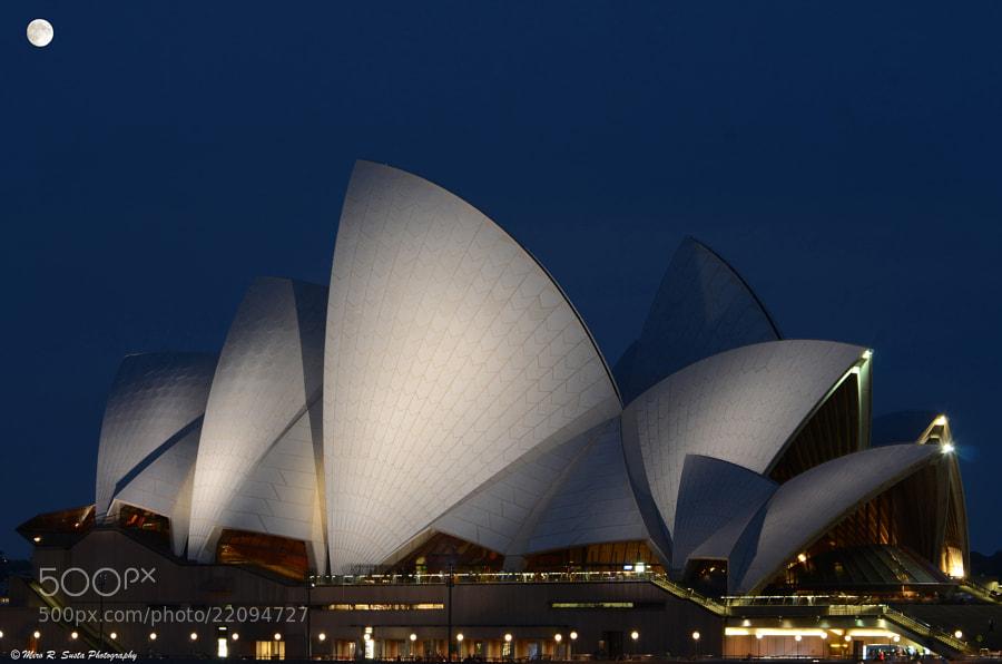 Full Moon over the Opera House