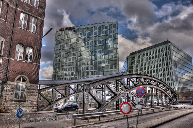 Photograph Hamburg, Schwarze Brücke, Speicherstadt by Al Bert Pinkl on 500px