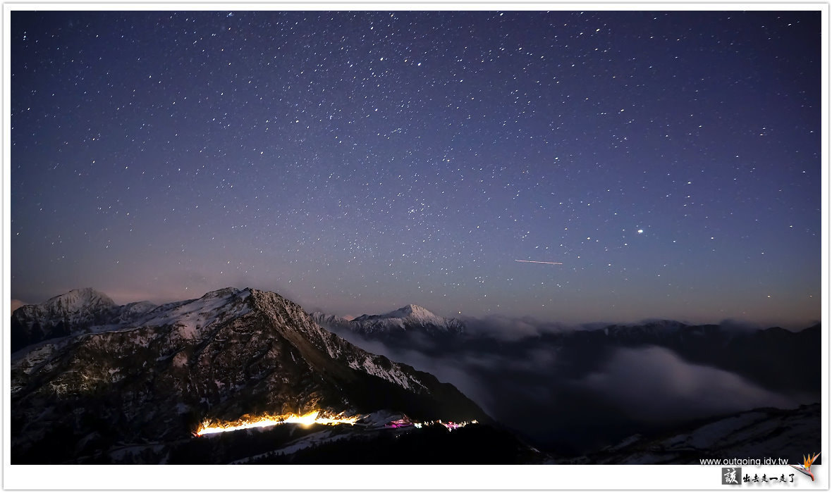 Photograph 合歡山的星空 by 該出去走一走了 Outgoing on 500px