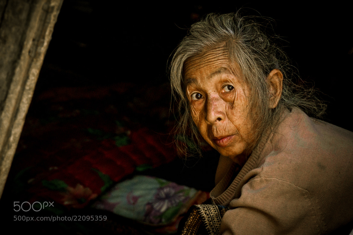 Photograph Lao Grandmother by Joshua Jacks on 500px