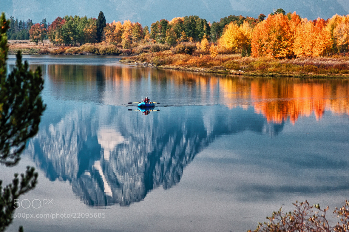 Photograph Climbing A Reflection by Duane Bender on 500px