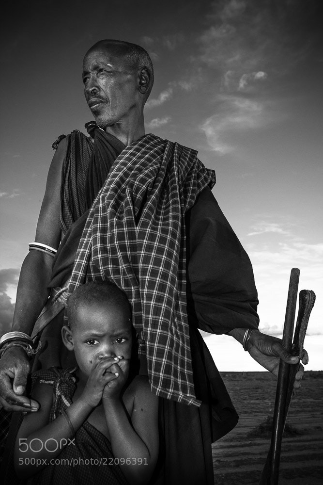 Photograph Masai by Radek Borovka on 500px