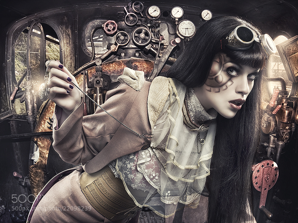 Photograph The Machine by Rebeca  Saray on 500px