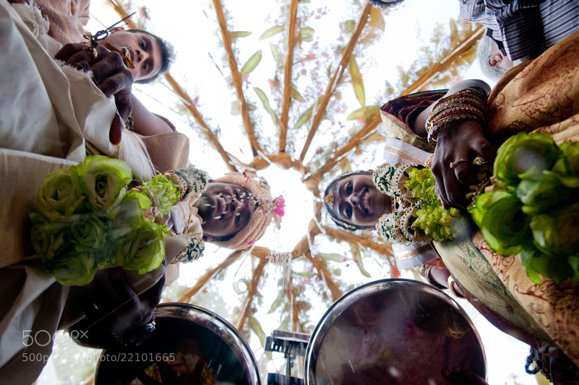 Photograph a different view of the wedding  by Mayur Channagere on 500px