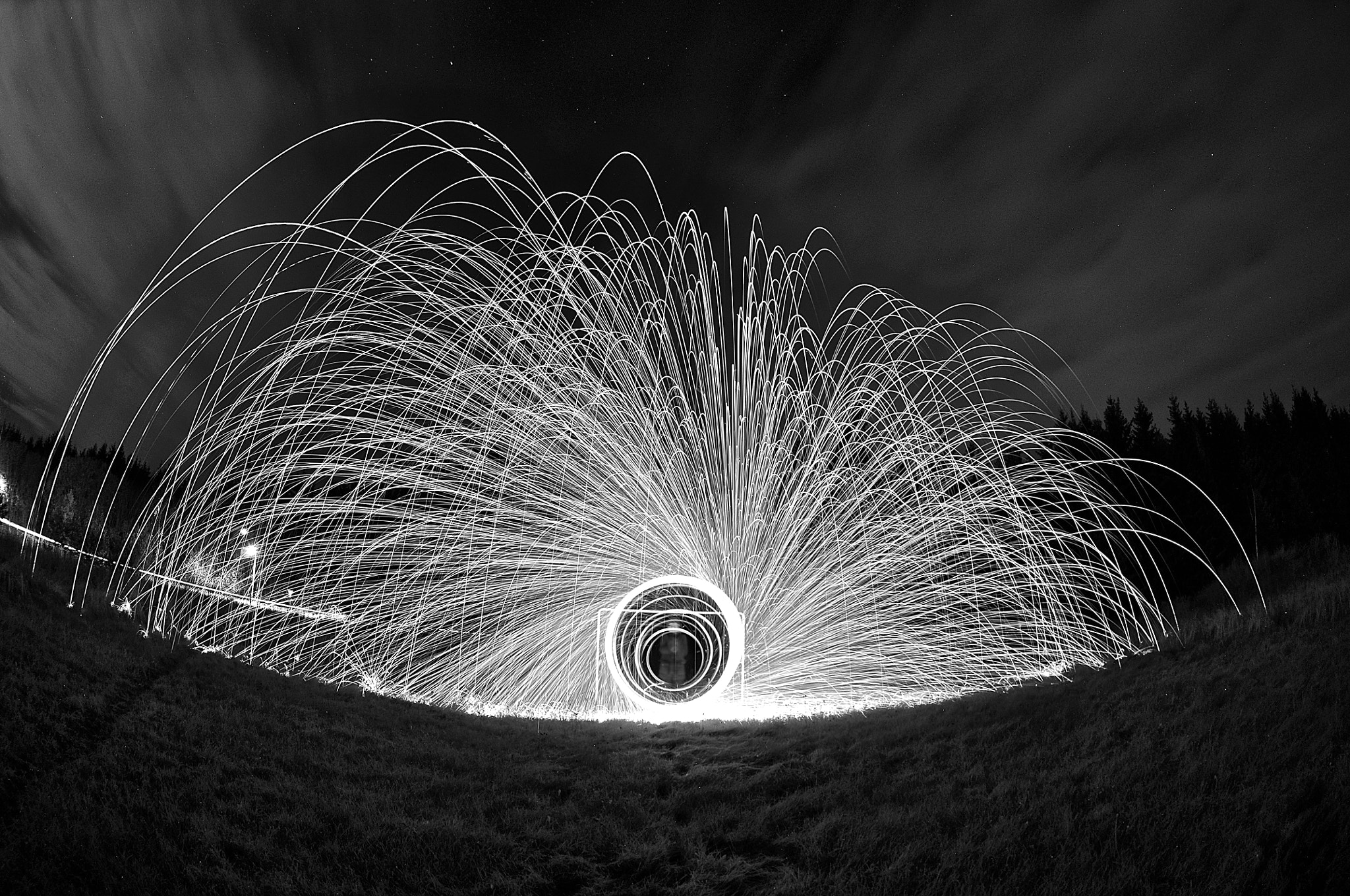 Photograph Black n white steel wool by Joel Ericsson on 500px