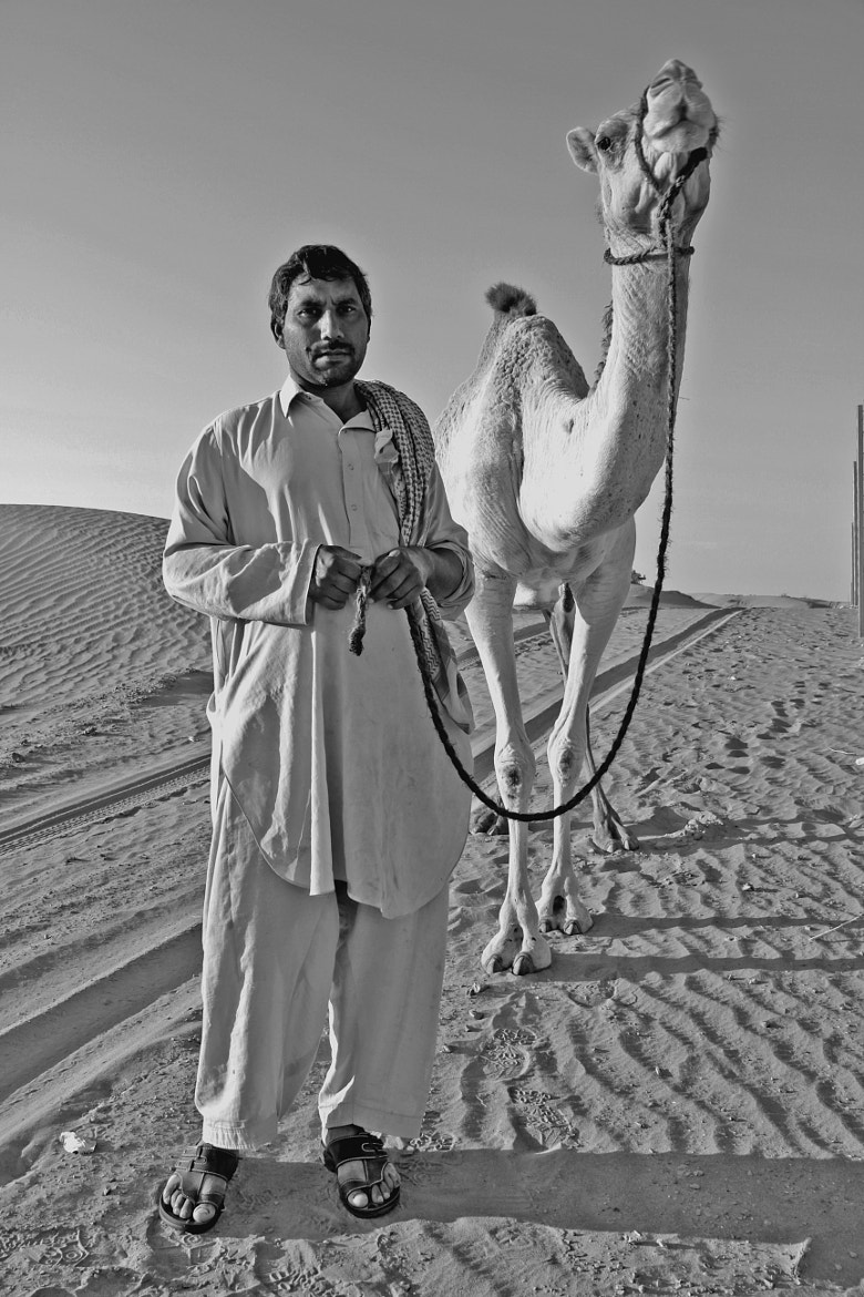 Photograph Camel man by Jaffer Shadiq on 500px
