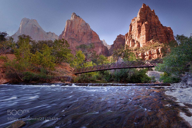Photograph Zion Bridge by Michael Joerger on 500px
