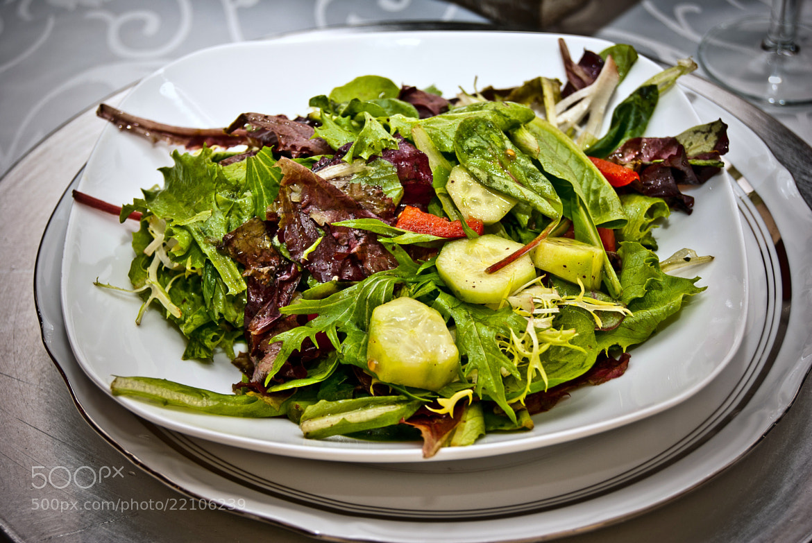 Photograph une fraîche salade by nassar milad on 500px