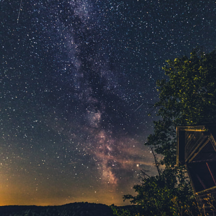 Milkyway over Nationalpark Thayatal