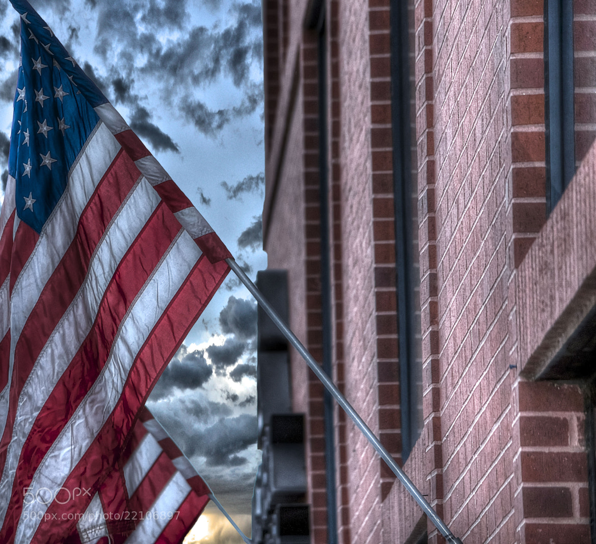 Photograph Flags over Old Colorado City by Jeff Heredia on 500px