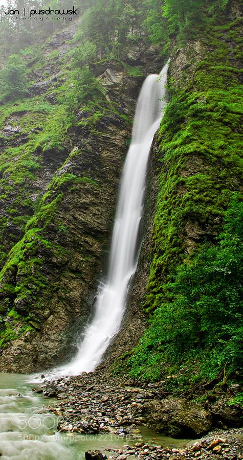 Photograph Mossy Falls by Jan Pusdrowski on 500px