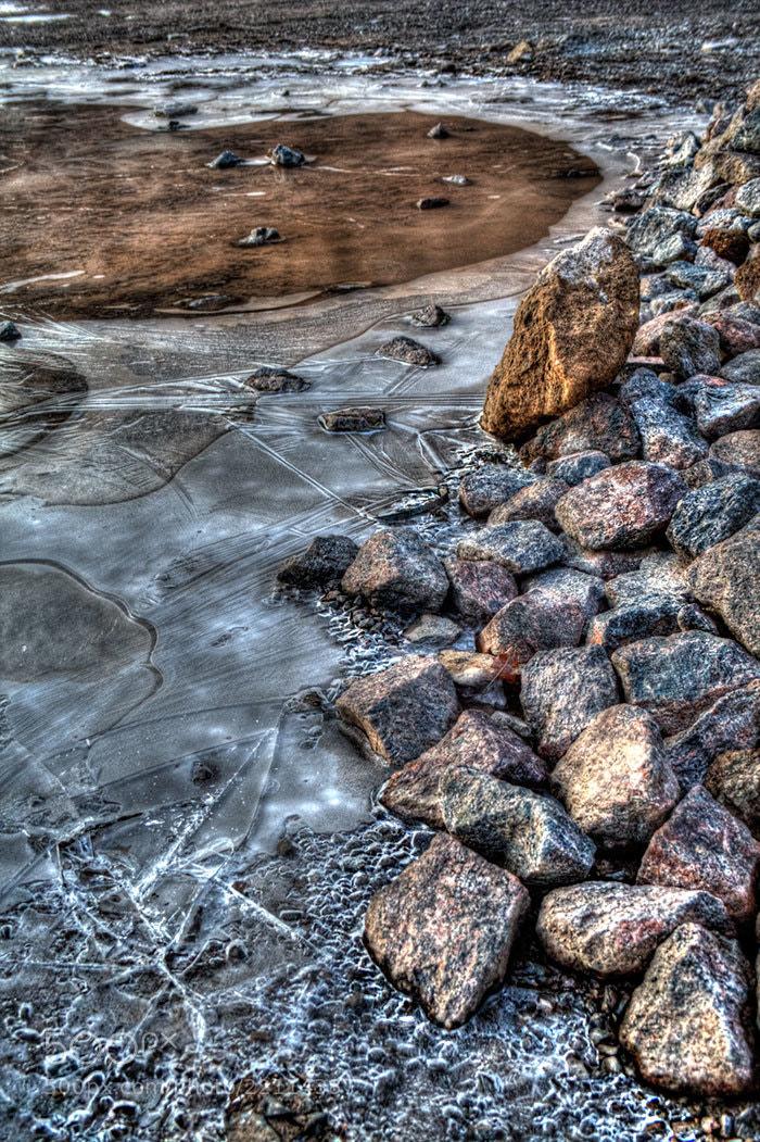 Photograph Icy stones by Soňa Kovalčíková on 500px