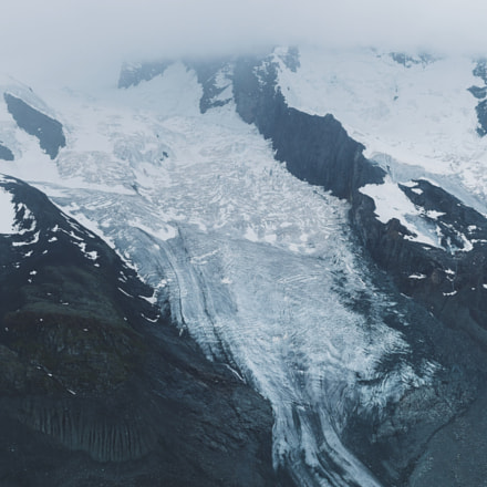 The scale and might of the glaciers