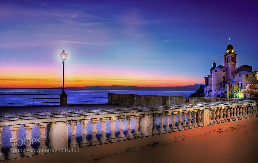 Photograph Sunset in Camogli (Ge) by Roberto Becucci on 500px