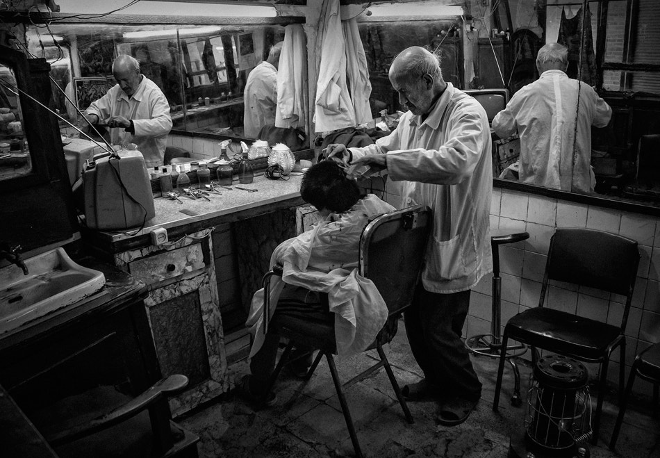 Photograph Old barber shop by Farshad Davari on 500px