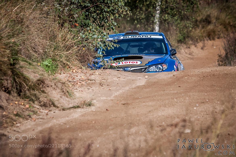 Photograph Rally Subaru hidden behind corner by Pawel Jakubowski on 500px