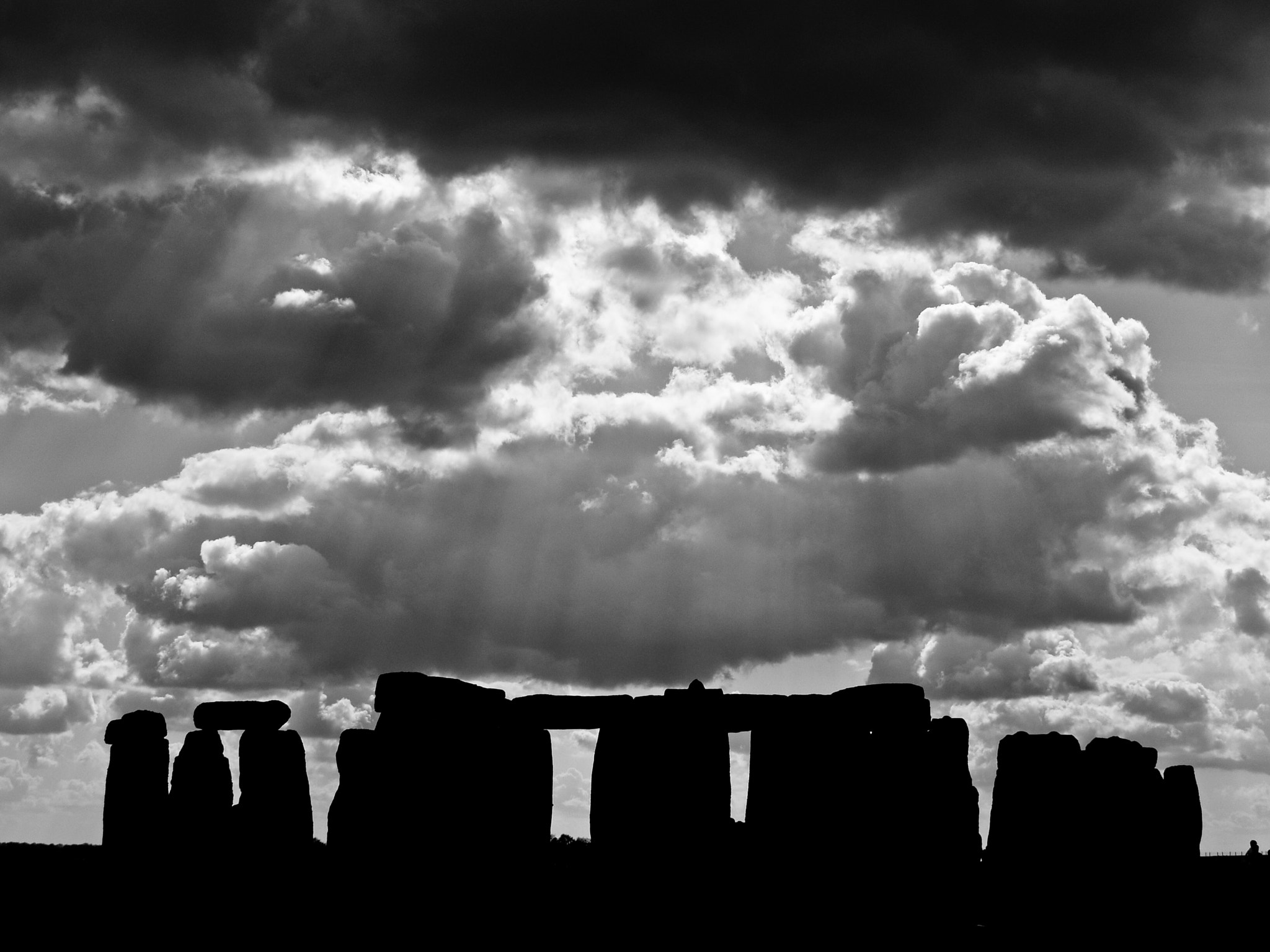 Photograph Sunbeams over Stonehenge by Steven Feeney on 500px