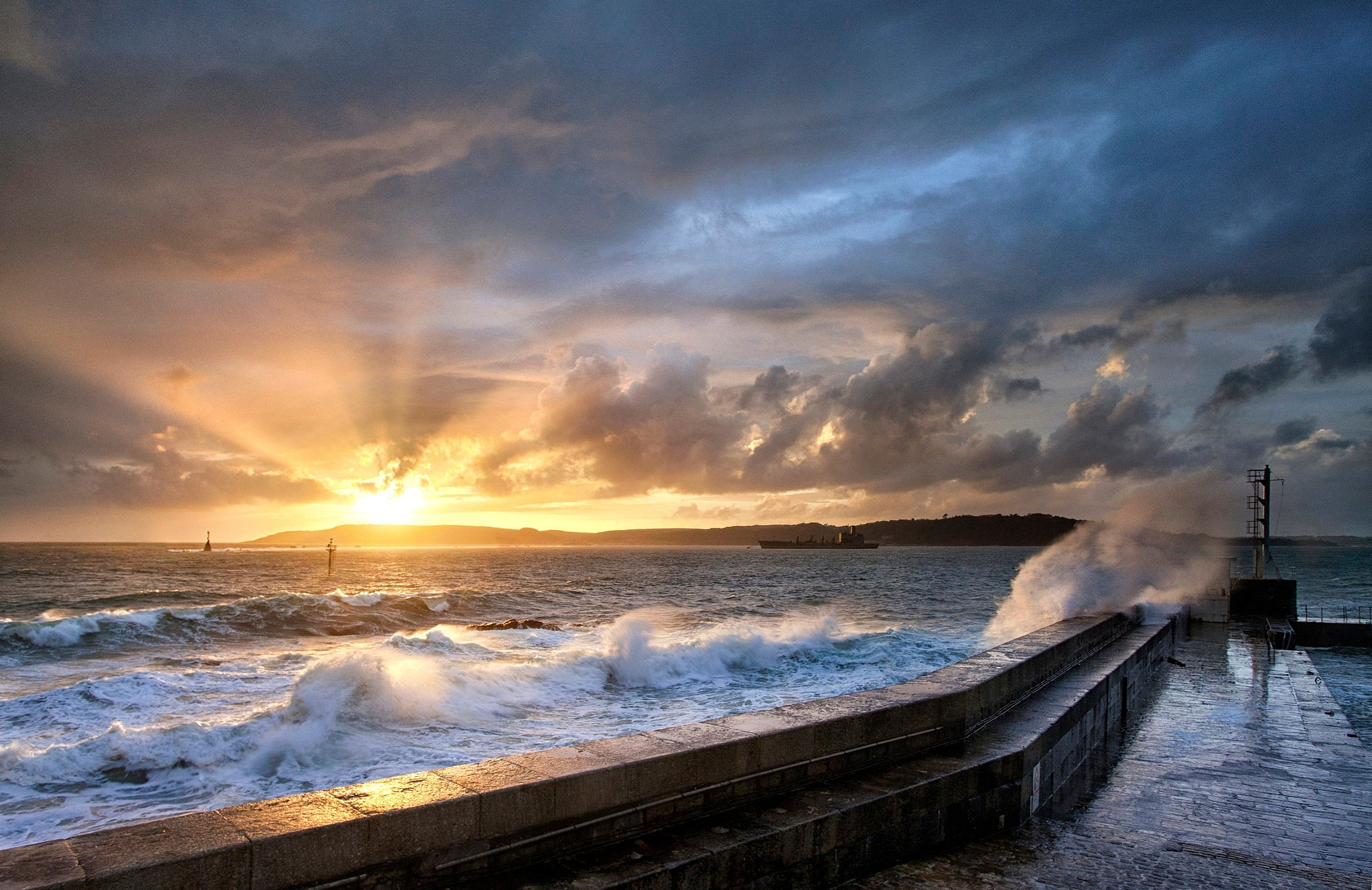 Photograph Stormy Eventide by Chris Marshall on 500px