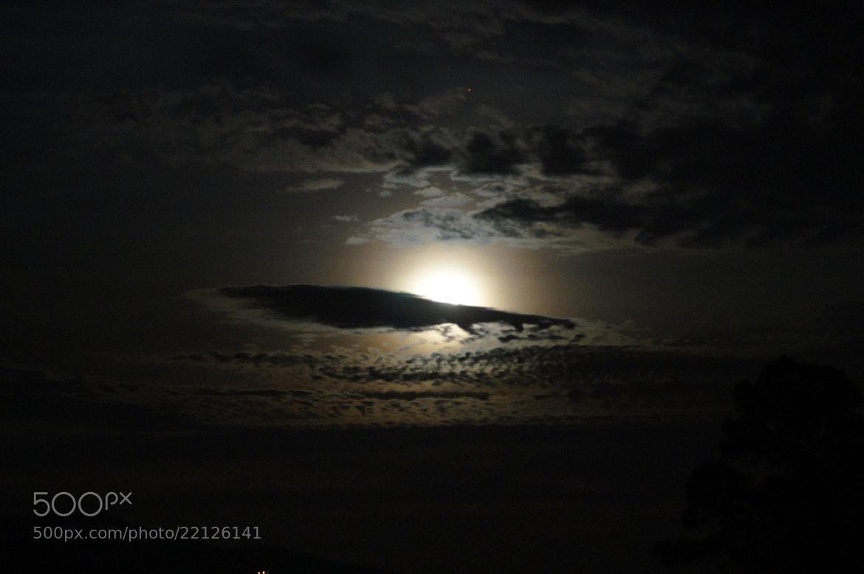 Photograph Luna nueva y nubes. by Andres Gomez on 500px
