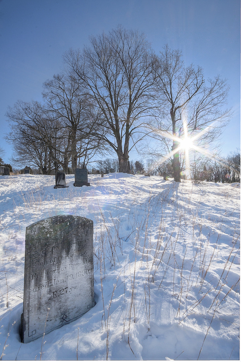 Photograph Snow & Grave by Samir Mohanty on 500px